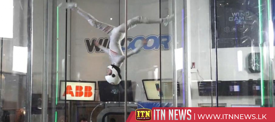 Wittenburg wins gold at the Wind Games indoor skydiving championships