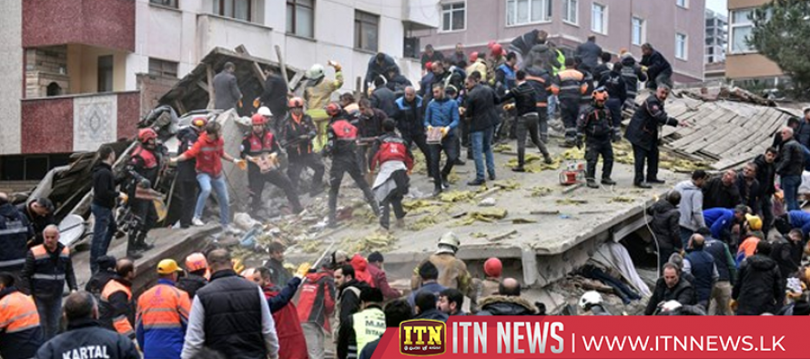 Building collapse leaves 2 dead, 4 trapped in Istanbul