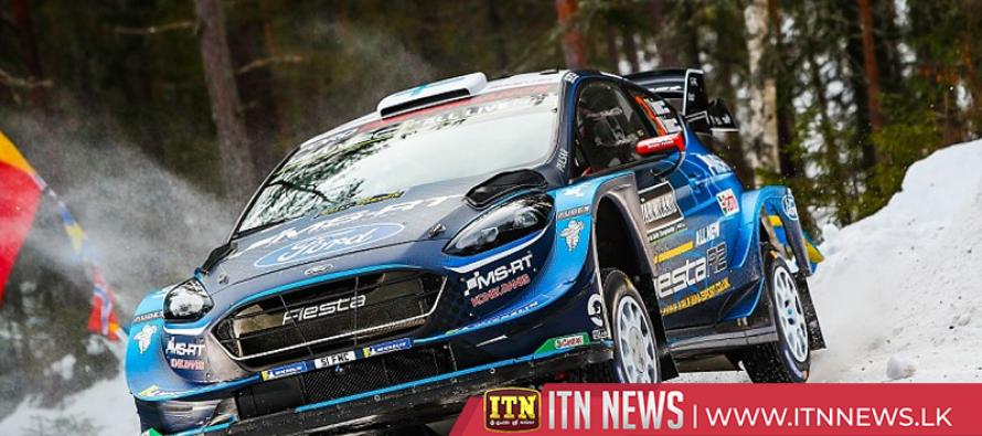Suninen leads Rally Sweden as Ogier and Latvala crash