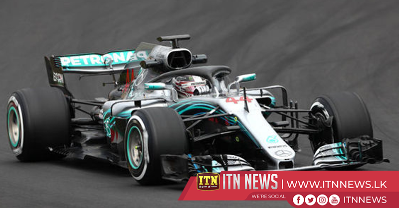 F1 champion Hamilton tests Mercedes at Barcelona testing