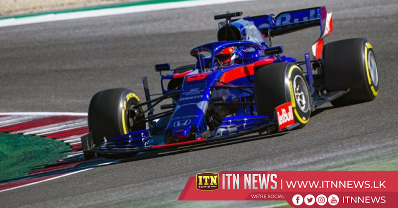 Kvyat puts Toro Rosso on top in F1 testing