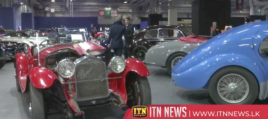 Vintage Alfa Romeo, Lego car go up on sale at Paris retro car show