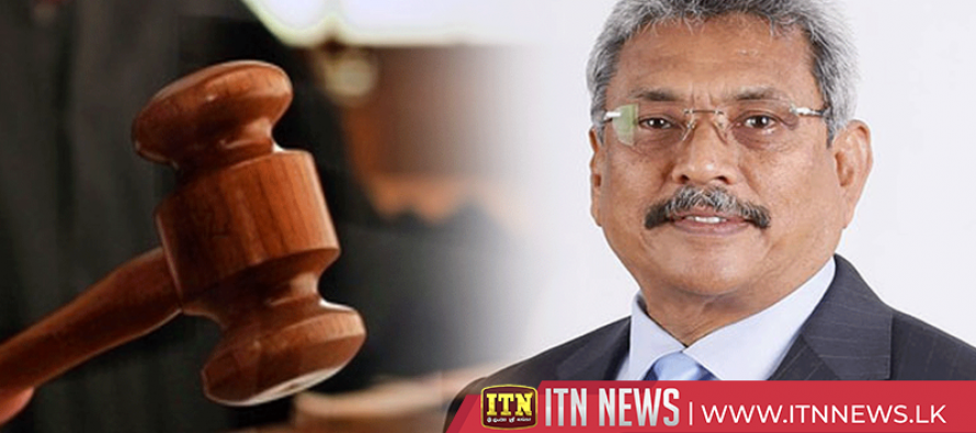 Case against Gotabhaya Rajapaksa to be taken up on 20th September