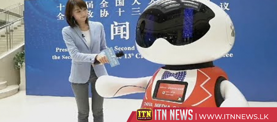 China Media Group launches robot assistant to help cover 'two sessions'