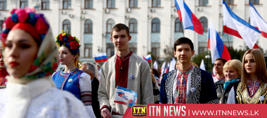 Crimea celebrates five years since annexation by Russia