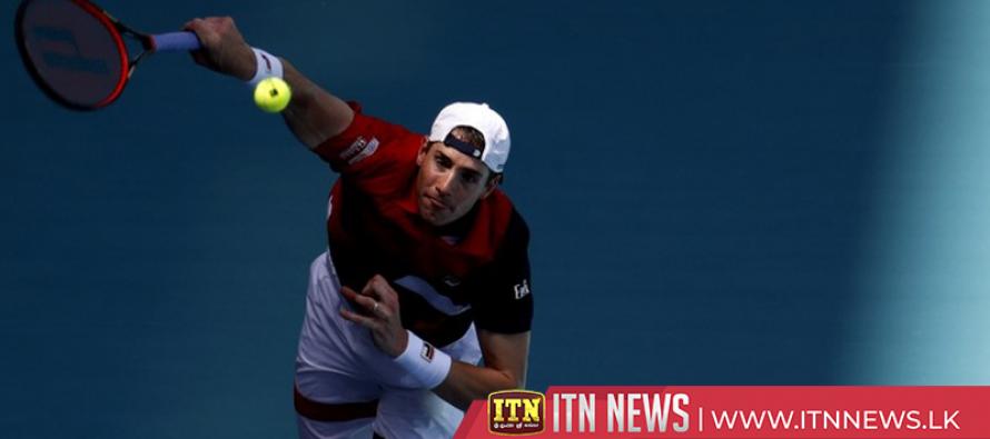 Defending champion John Isner, Borna Coric and Canadian Felix Auger-Aliassime reach quarterfinals