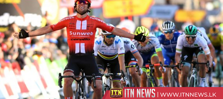 Matthews sprints to victory on the second stage of the Volta a Catalunya