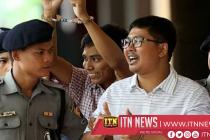 மியன்மாரில் கைதுசெய்யப்பட்ட ரொய்ட்டர் ஊடயவியலாளர்கள் இருவர் விடுதலை