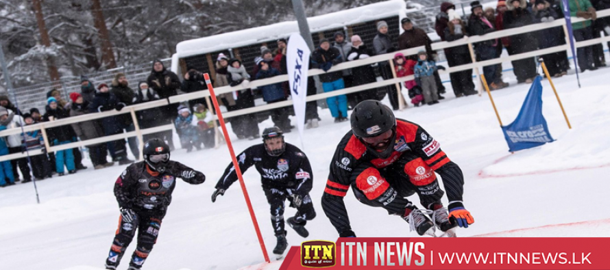 Naasz and Trunzo crowned ice cross downhill champions