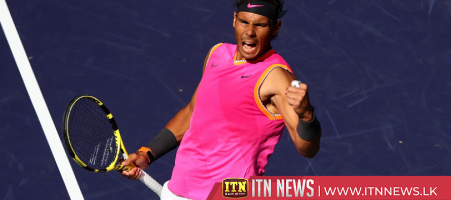 Rafa battles past Khachanov to setup Indian Wells semi-final showdown with Federer