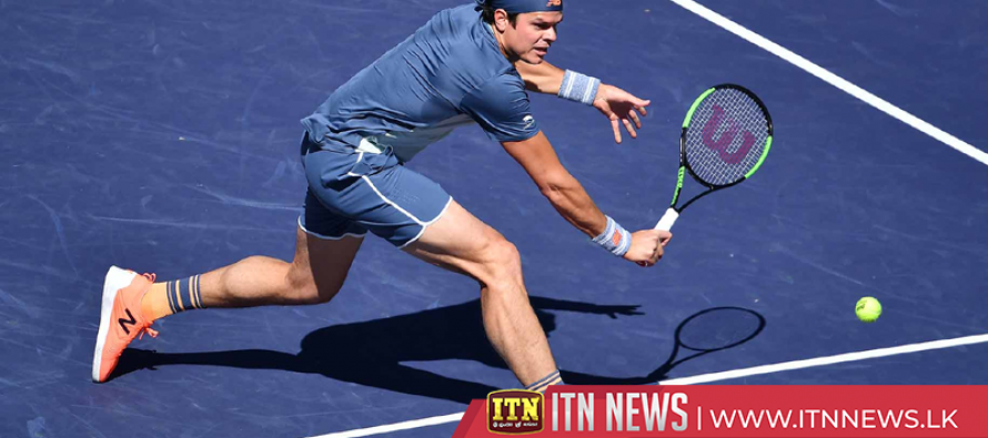 Raonic overpowers Kecmanovic to advance to Indian Wells semis