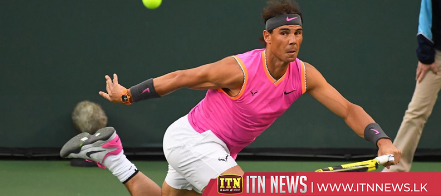Nadal through, Nishikori out at Indian Wells