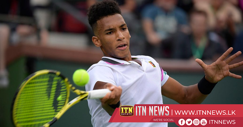 Canadian phenom Auger-Aliassime dismisses Lorenzi in straight sets in Miami