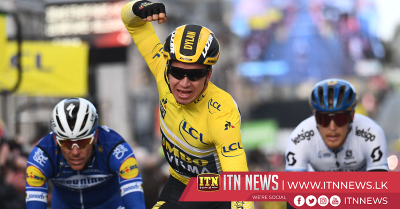 Sam Bennett wins the third stage of the Paris-Nice while Dylan Groenewegen retains the lead
