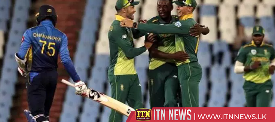 South Africa complete 5-0 series sweep with victory in final ODI