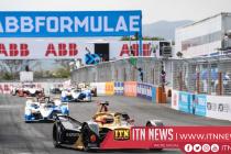 Vergne wins incident-packed Sanya Formula E race