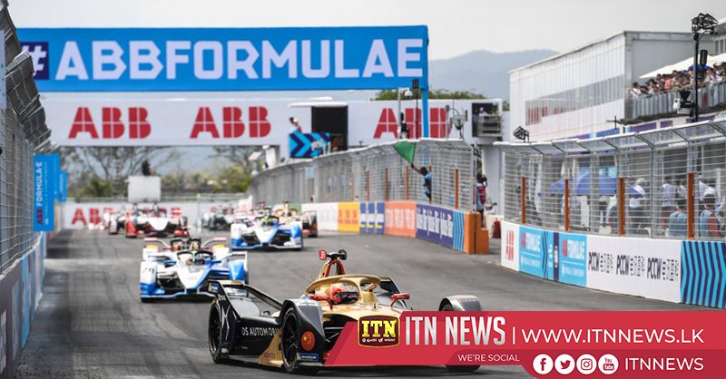 Vergne wins incident-packed Sanya Formula E race