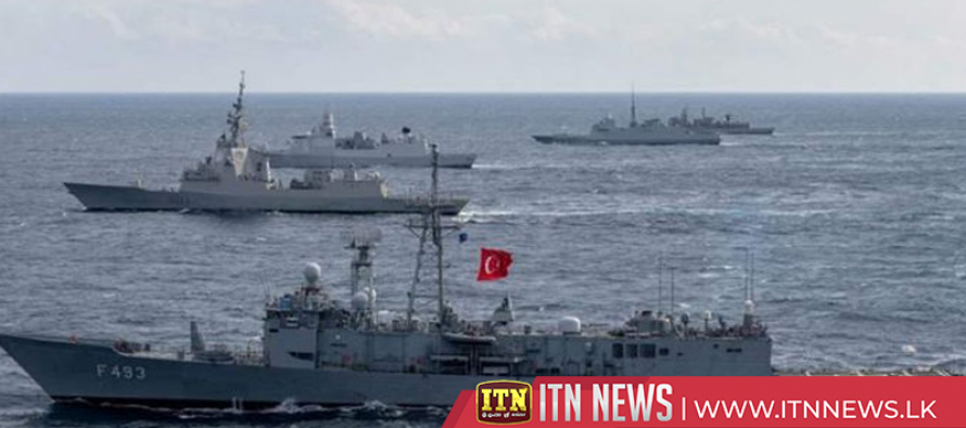 Turkey conducts largest naval exercise