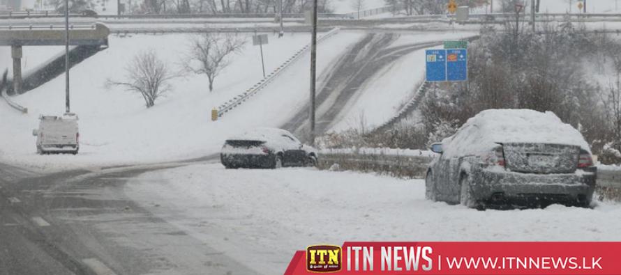 Blizzard, fierce winds clobber U.S. Plains states