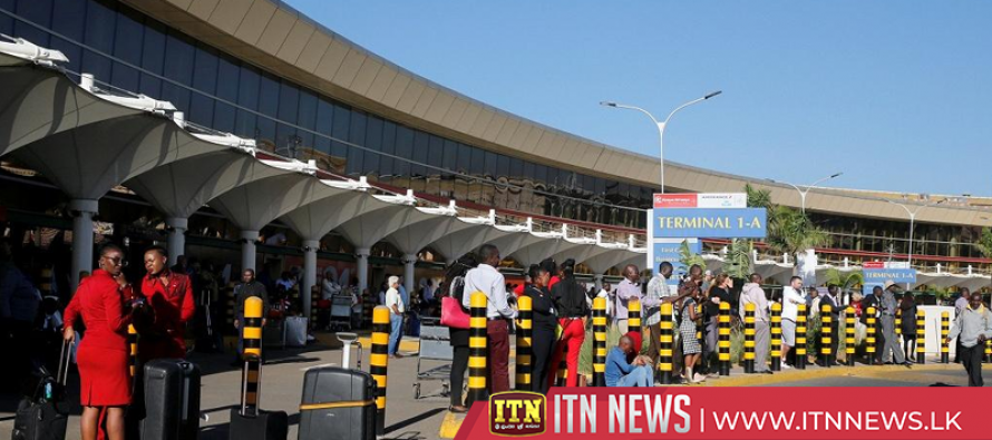 Strike over labour dispute grounds flights at Kenya's main airport