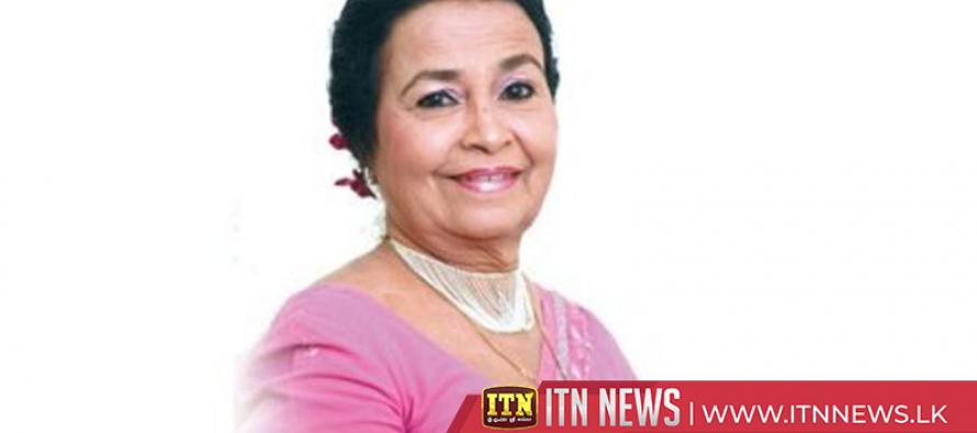 Anjaline Gunathilaka bids adieu to the nation