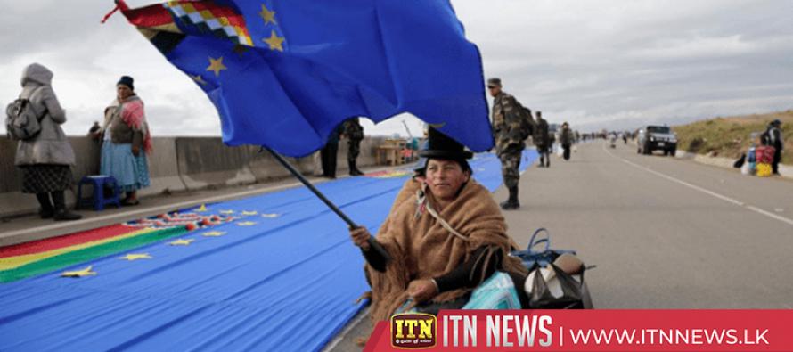 Bolivia's Evo Morales marks national Sea Day