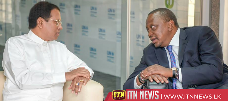 Sri Lanka and Kenya agree to work in cooperation in the international arena