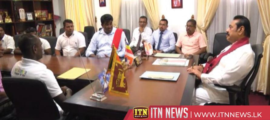 Telingu Cultural Forum and Muslim representatives of Puttalam meet the Opposition Leader
