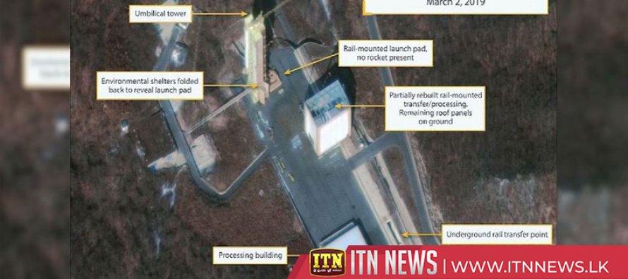 Satellite image shows North Korean missile site, after reports it is being rebuilt