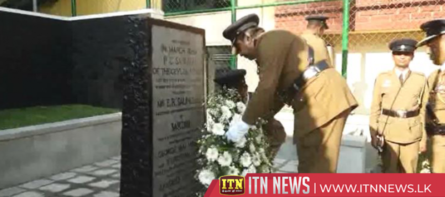 155th Police Day commemorated