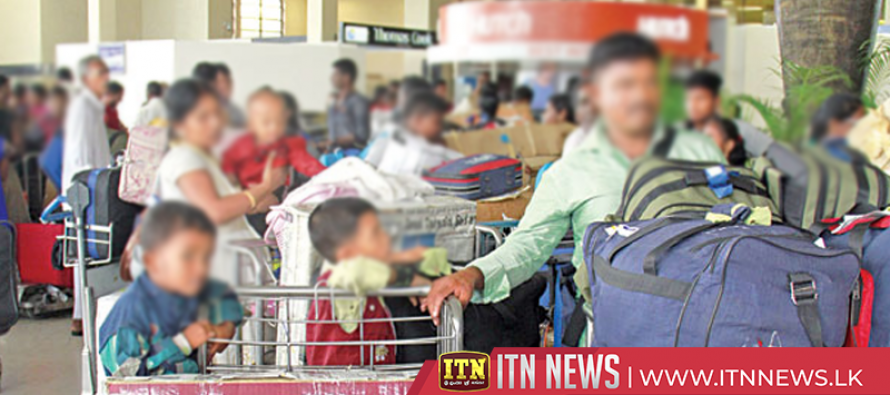 Many Northern civilians return from India