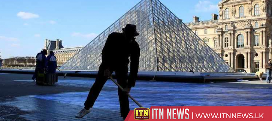 Paris Louvre Museum's iconic pyramid celebrates 30th anniversary