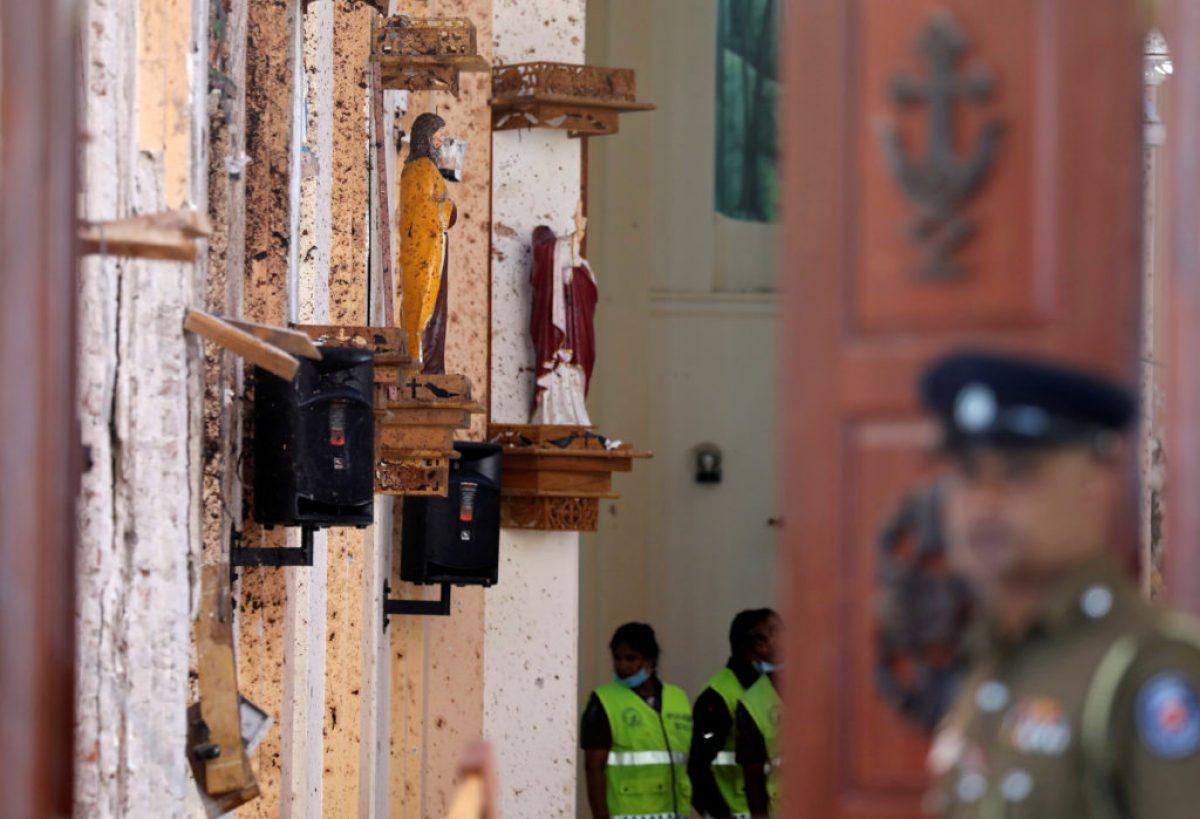 இலங்கையில் உயிர்த்த ஞாயிறு தினத்தில் இடம்பெற்ற அவலங்கள் 21.04.2019