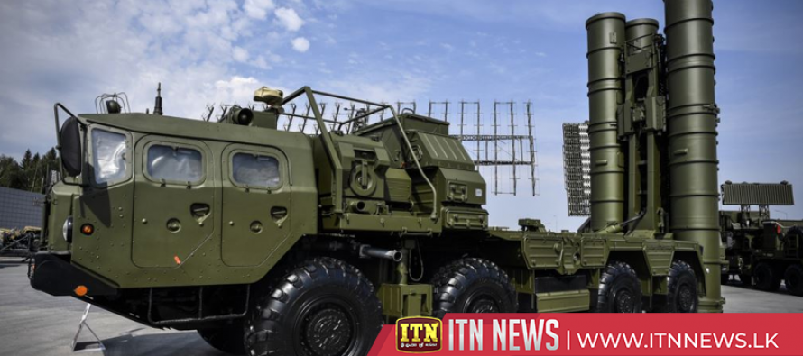 Russia puts S-400 on display in annexed Crimea