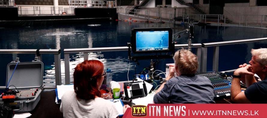 Filming 30 feet down – underwater movie studio opens in Belgium