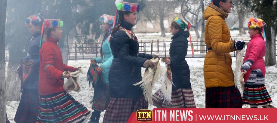 Fun-filled farewell to winter in Belarus