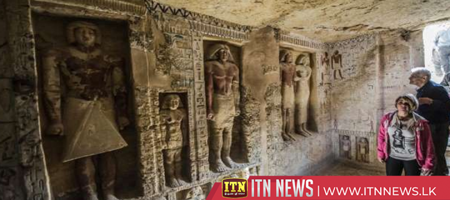 Egypt antiquities authorities announce discovery, south of Cairo