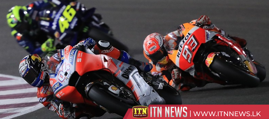 Marquez races from pole to win in Argentina, Rossi outduels Dovizioso for second