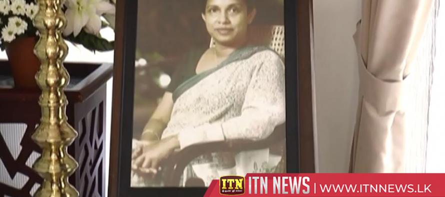 Srima Dissanayake bids farewell to the nation