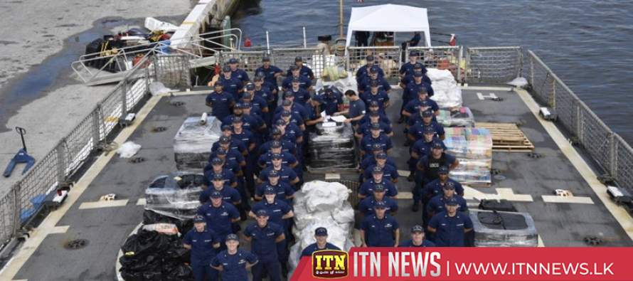 Over seven tons of cocaine confiscated in six U.S. Coast Guard interdictions