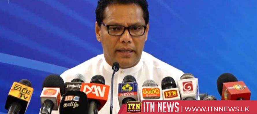 Dayasiri Jayasekera explains about the Presidential candidate