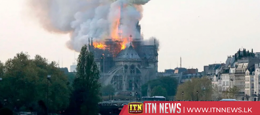 Massive fire consumes Notre Dame cathedral in Paris (Photo/Video)