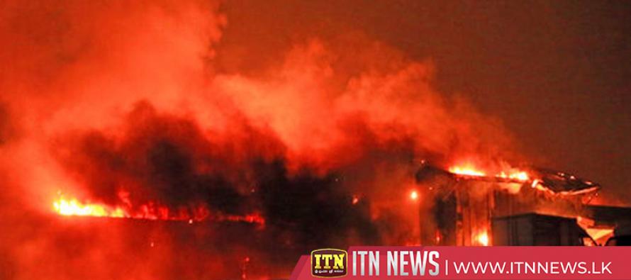 சீனாவில் மருந்து தொழிற்சாலையில் ஏற்பட்ட தீவிபத்தில் 10 பேர் உயிரிழப்பு
