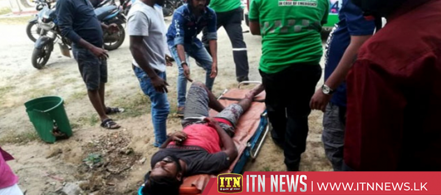 Nine injured in a clash hospitalized
