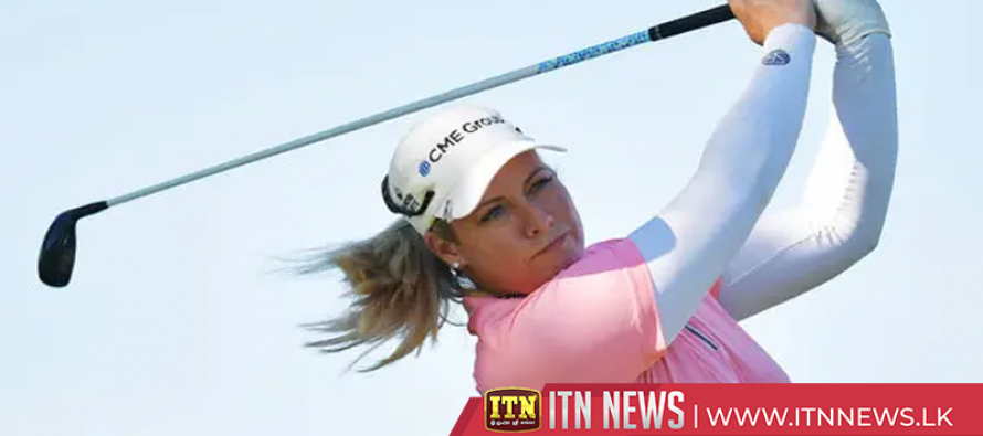 Male and female golfers compete in first professional mixed event