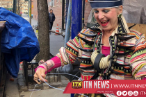NY artist Debra Rapoport turns garbage into high-end fashion
