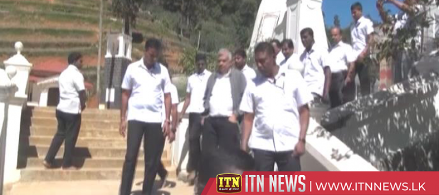 Prime Minister's attention drawn to people's problems in Nuwara Eliya