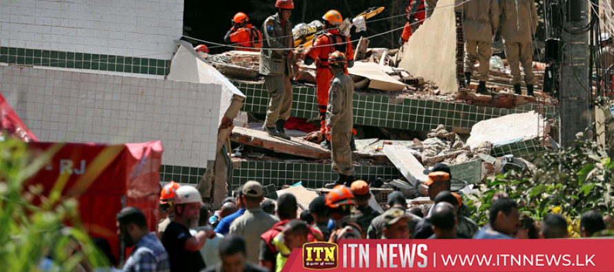 Building collapses leave 5 dead, 9 injured in Rio