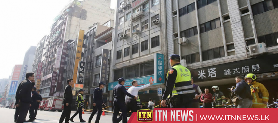 Building in Taipei tilts following 6.7-magnitude earthquake