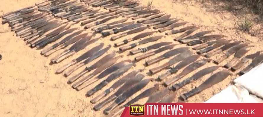 Disappeared knives recovered